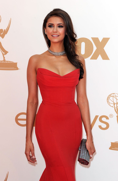 Nina Dobrev Actress Nina Dobrev arrives at the 63rd Annual Primetime Emmy Awards held at Nokia Theatre L.A. LIVE on September 18, 2011 in Los Angeles, California.