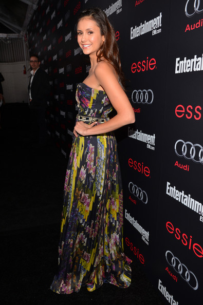 Nina Dobrev - The Entertainment Weekly Pre-SAG Party Hosted By Essie And Audi - Red Carpet