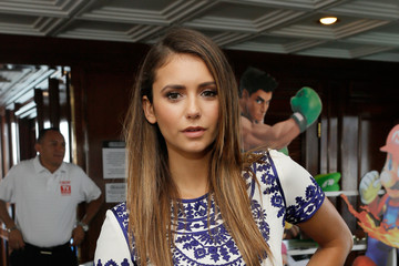 Nina Dobrev Nintendo Lounge On The TV Guide Magazine Yacht At Comic-Con #TVGMYacht - Day 3