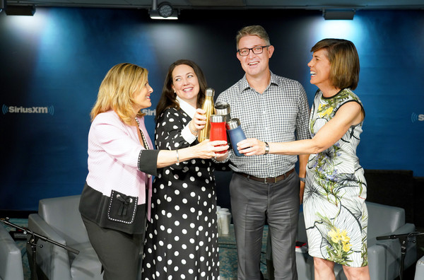 SiriusXM Insight's 'Making A Leader' Series [green,event,product,yellow,fashion,technology,award ceremony,award,competition,drink,series,jeff peck,sarah kauss,ceo,nina easton,founder,series,swell,siriusxm insights making a leader,siriusxm insights making a leader]