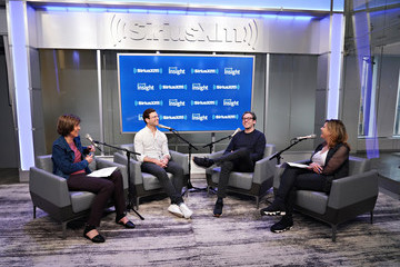 Nina Easton Pattie Sellers Warby Parker Co-Founders And Co-CEOs Neil Blumenthal And Dave Gilboa Sit Down With Pattie Sellers And Nina Easton For SiriusXM's 'Making A Leader' Series