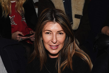 Nina Garcia Front Row at Ralph Lauren