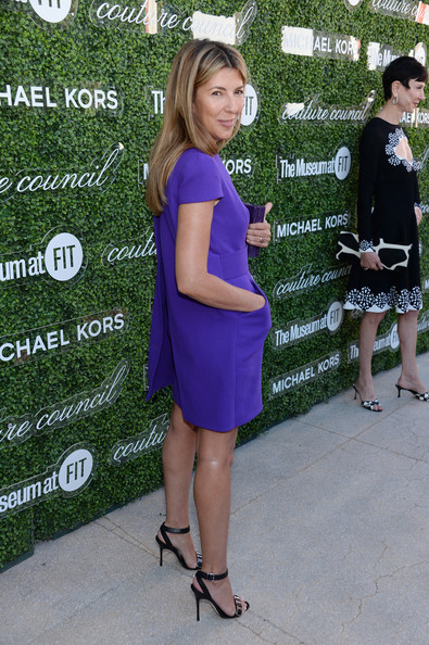 Nina Garcia - Arrivals at the Couture Council Luncheon