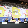 "Nina Hoss ""My Little Sister"" Press Conference - 70th Berlinale International Film Festival"