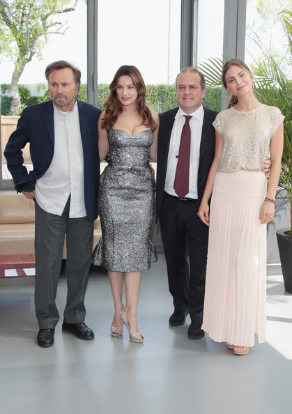 2012 Ischia Global Fest - Photocall [fashion,event,formal wear,dress,suit,fun,haute couture,ceremony,fashion design,tuxedo,franco nero,nina senicar,pascal vicedomini,kelly brook,l-r,italy,milan,ischia global fest - photocall,photocall,ischia global fest]