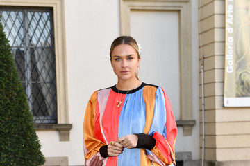Nina Suess Tod's - Arrivals and Front Row: Milan Fashion Week Autumn/Winter 2019/20