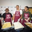 Nina Westbrook Russell Westbrook and Why Not? Foundation Present 4th Annual Thanksgiving Dinner at Boys & Girls Club of Oklahoma County