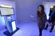 Shenae Grimes attends the Nintendo Hosts Wii U Experience In Los Angeles on September 20, 2012 in Los Angeles, California.