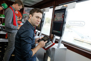 Actor/writer Josh Meyers (L) and actor Taran Killam attend the Nintendo Lounge On The TV Guide Magazine Yacht At Comic-Con #TVGMYacht during San Diego Comic-Con International 2014 on July 26, 2014 in San Diego, California.
