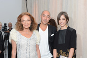 Diane von Furstenberg, Max Osterweis and Erin Beatty attends The Ninth Annual CFDA/Vogue Fashion Fund Awards at 548 West 22nd Street on November 13, 2012 in New York City.