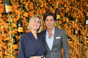 Delfina Blaquier (L) and Nacho Figueras attend the Ninth-Annual Veuve Clicquot Polo Classic Los Angeles at Will Rogers State Historic Park on October 6, 2018 in Pacific Palisades, California.