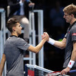 Kevin Anderson and Dominic Thiem Photos