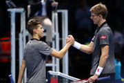 Kevin Anderson and Dominic Thiem Photos Photo
