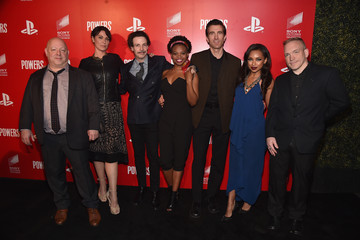 "Noah Taylor PlayStation & Sony Pictures Television Series Premiere Of ""POWERS"" - Red Carpet"