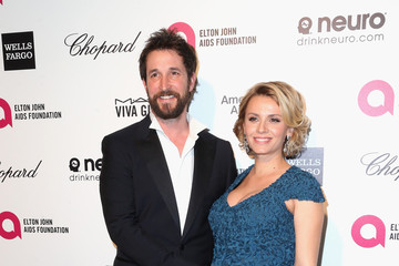 Noah Wyle Arrivals at the Elton John AIDS Foundation Oscars Viewing Party — Part 4