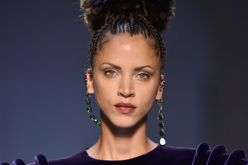 Noemie Lenoir Jean Paul Gaultier: Runway - Paris Fashion Week - Haute Couture Fall/Winter 2017-2018