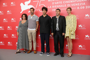 Noemie Lvovsky 'One Nation One King (Un Peuple Et Son Roi)' Photocall - 75th Venice Film Festival