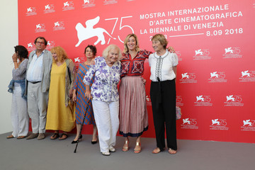 Noemie Lvovsky 'The Summer House (Les Estivants)' Photocall - 75th Venice Film Festival