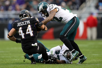 Nolan Carroll Philadelphia Eagles v Baltimore Ravens