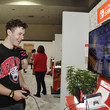 Nolan Gould Nintendo Demos New Titles For Nintendo Switch For Celebrities At 2019 E3 Gaming Convention