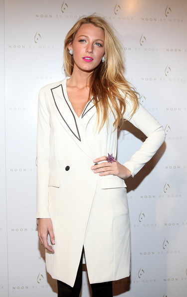 Blake Lively attends the Noon By Noor Fall 2012 presentation during Mercedes-Benz Fashion Week at Provocateur on February 15, 2012 in New York City.