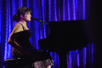 Norah Jones Inside the USC Shoah Foundation Institute Gala