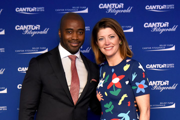 Norah O'Donnell Annual Charity Day Hosted By Cantor Fitzgerald, BGC and GFI - Cantor Fitzgerald Office - Arrivals