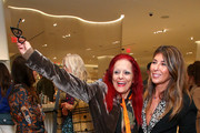 Patricia Field and Nina Garcia attend Nordstrom and ELLE Perfect Pairs Cocktail Party at Nordstrom NYC on November 07, 2019 in New York City.
