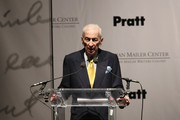 Author Gay Talese speaks onstage at the Norman Mailer Center 7th Annual Awards ceremony and celebration at Pratt Institute on December 10, 2015 in New York City.