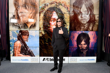 Norman Reedus The 22nd Annual Critics' Choice Awards - Fan Art Wall