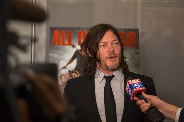 Norman Reedus 'The Walking Dead' Smithsonian Event