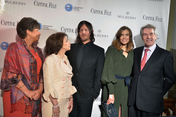 Norman Reedus Capitol File's WHCD Weekend Welcome Reception With Cecily Strong