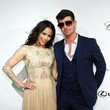 Paula Patton and Robin Thicke Photos