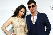 Paula Patton and Robin Thicke Photos Photo