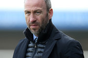 Cambridge United manager Shaun Derry looks on during the Sky Bet League Two match between Northampton Town and Cambridge United at Sixfields Stadium on March 12, 2016 in Northampton, England.