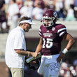 Dan Mullen and Dak Prescott Photos