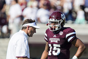 Dan Mullen and Dak Prescott Photos Photo
