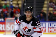 Brayden Schenn of Canada skates against Norway during the 2018 IIHF Ice Hockey World Championship Group B game between Norway and Canada at Jyske Bank Boxen on May 10, 2018 in Herning, Denmark.