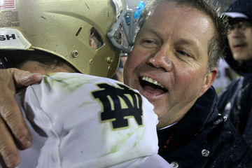Brian Kelly Tommy Rees Notre Dame v USC