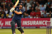 Jesse Ryder of Essex bats during the NatWest T20 Blast match between Notts Outlaw and Essex Eagles at Trent Bridge on August 8, 2016 in Nottingham, England.