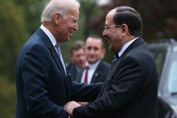Nouri al-Maliki Joe Biden Hosts Nouri al-Maliki at the Naval Observatory