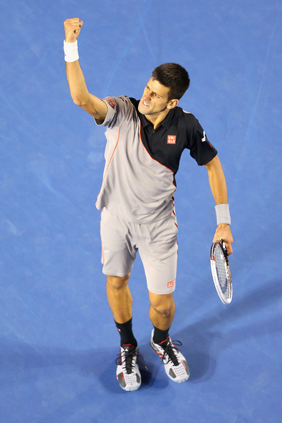 Novak+Djokovic+2014+Australian+Open+Day+