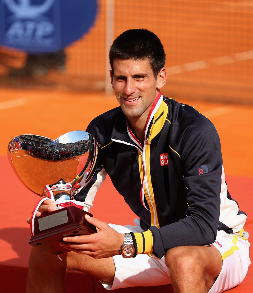 Novak Djokovic - ATP Masters Series Monte Carlo - Day Eight