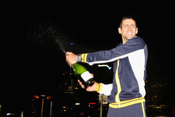 Novak Djokovic - Australian Open 2013 - Men's Champion Photocall