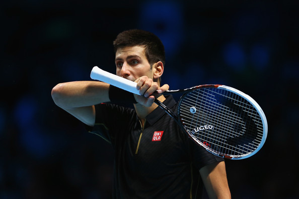 Novak+Djokovic+Barclays+ATP+World+Tour+F