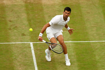 Novak Djokovic Day Eight: The Championships - Wimbledon 2017