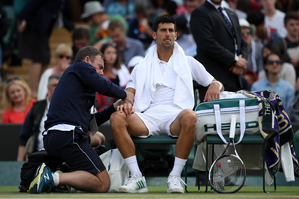 Novak Djokovic To Hold Press Conference Following Elbow Treatment