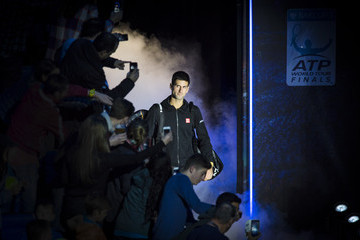 Novak Djokovic Barclays ATP World Tour Finals - Day Seven