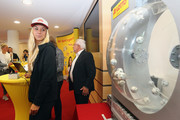 Sabine Lisicki of Germany attends the official draw ceremony on Day One of the Nuernberger Versicherungscup 2016 on May 14, 2016 in Nuremberg, Bavaria.