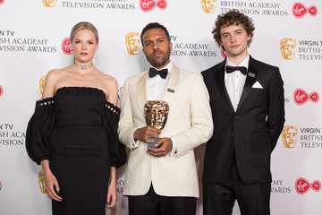 O.T. Fagbenle Virgin TV BAFTA Television Awards - Press Room